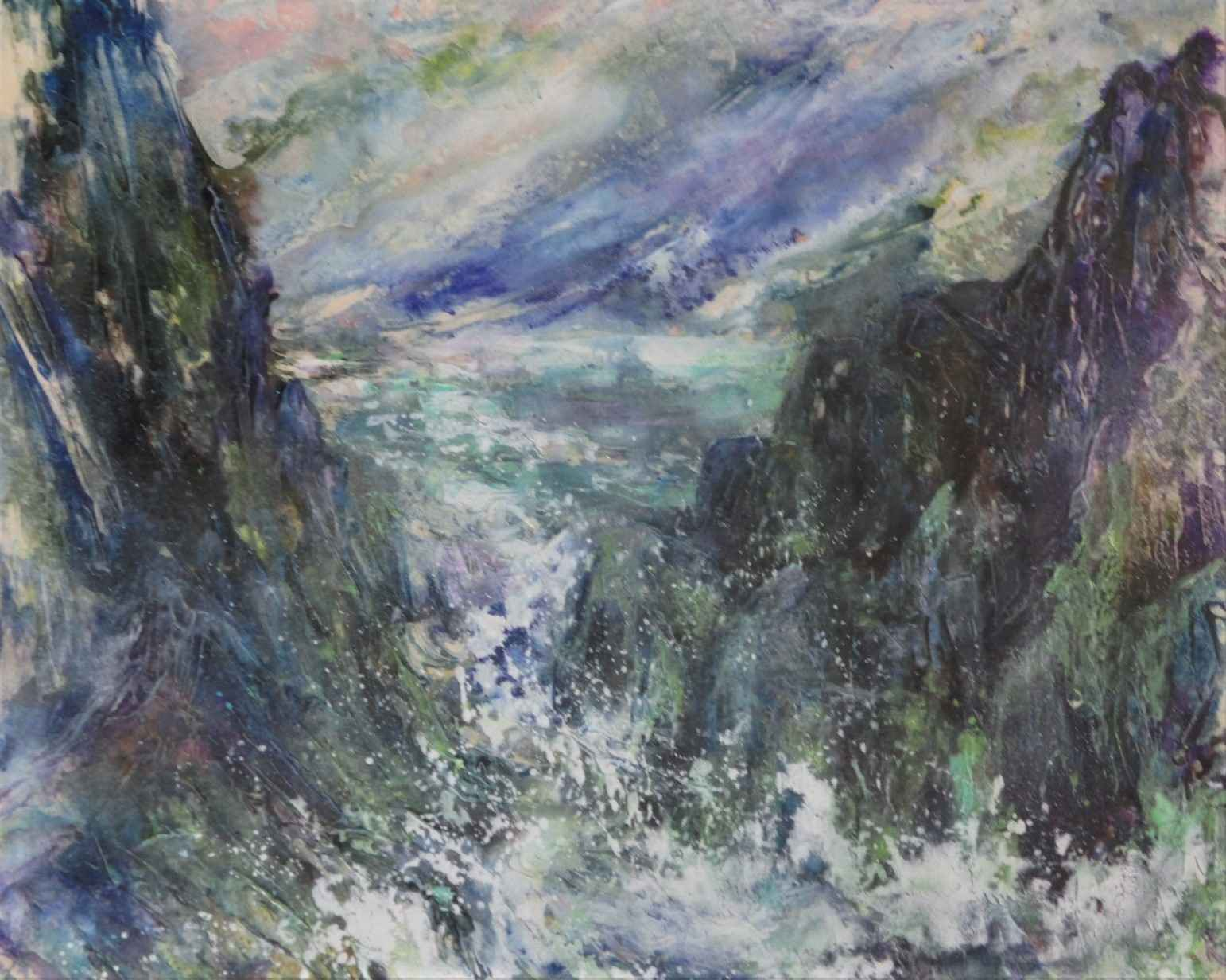 Untitled (seascape) by  Joan Farooqui - Masterpiece Online