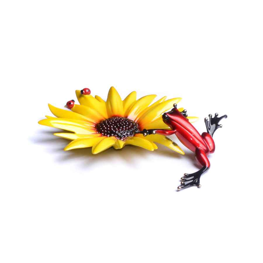 Sunflower by  Tim Cotterill, The Frogman - Masterpiece Online