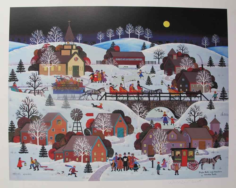 Jingle Bells and Caro... by  Jane Wooster Scott - Masterpiece Online