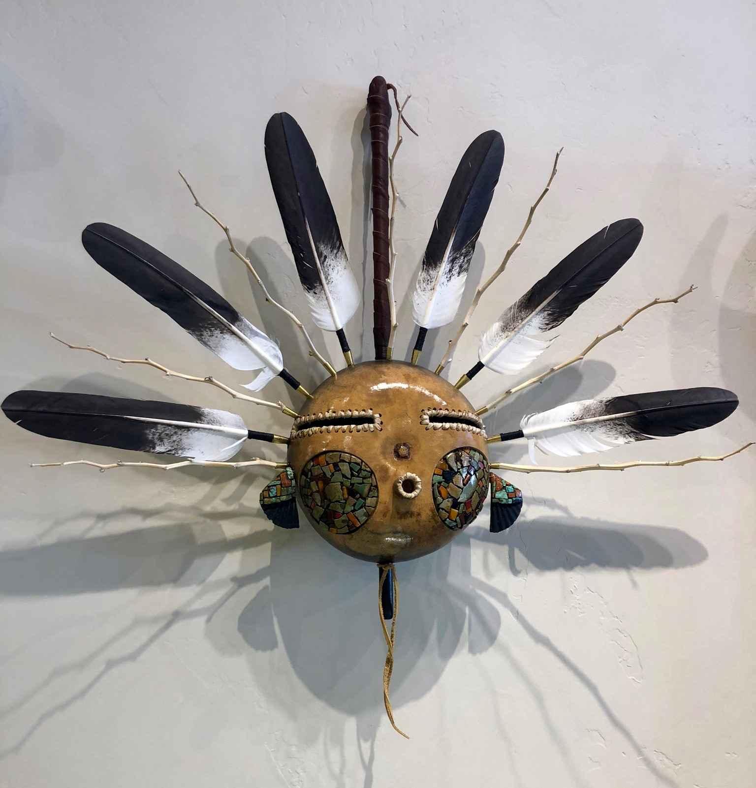 Gourd Mask by  Robert Rivera - Masterpiece Online