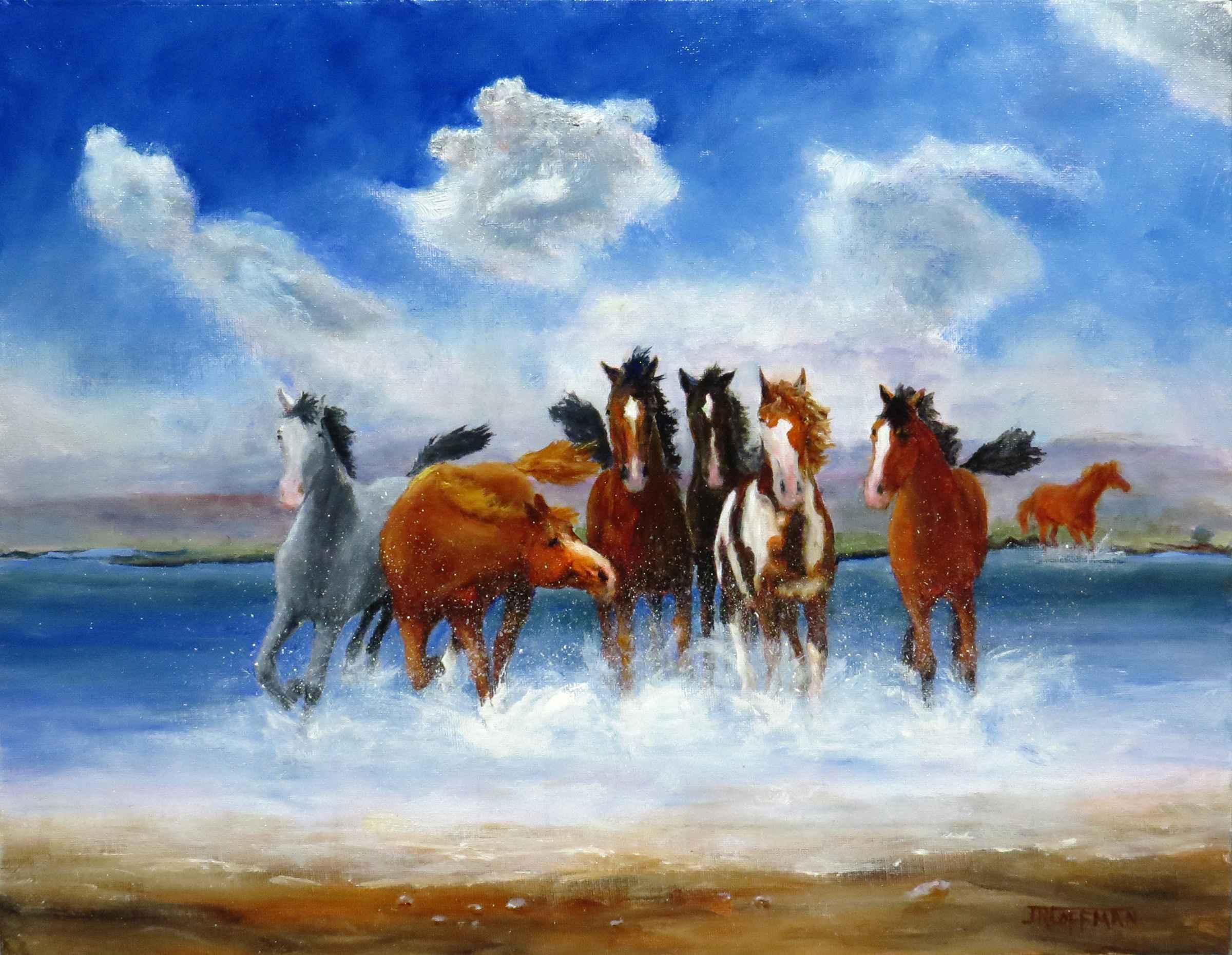 The Wild Bunch by  Jim Coffman - Masterpiece Online