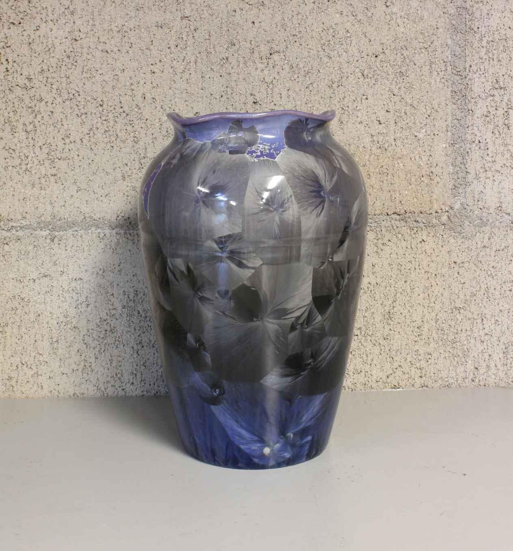 Purple Flower Vase by  Duly Mitchell - Masterpiece Online