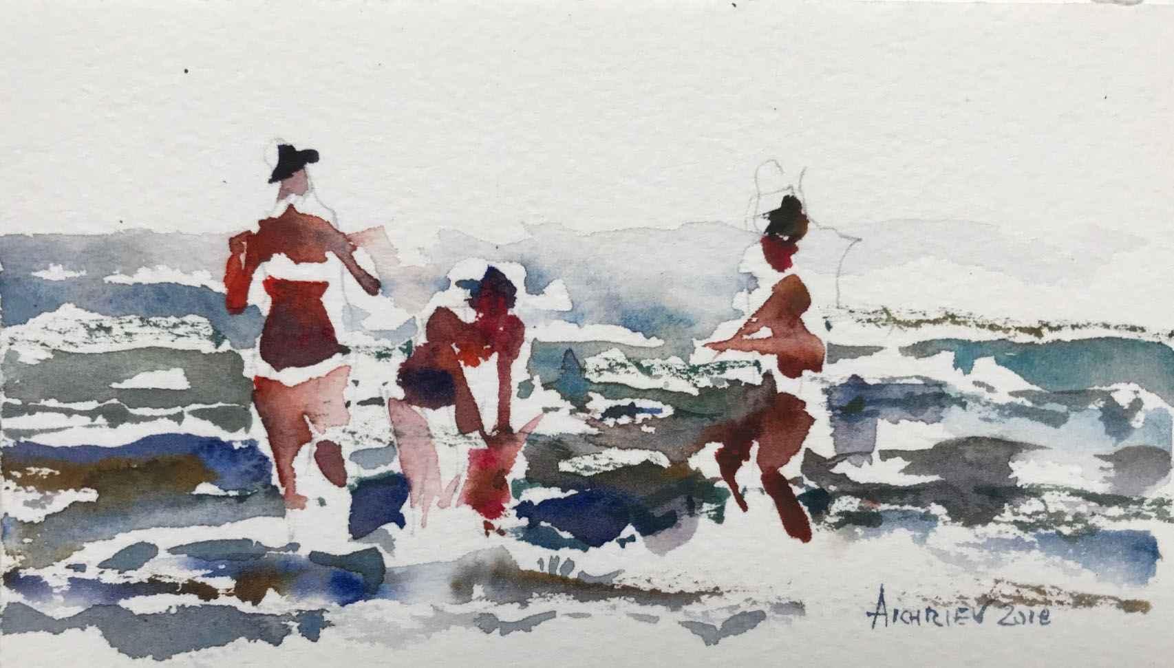 Beach Series IV by  Daud Akhriev - Masterpiece Online