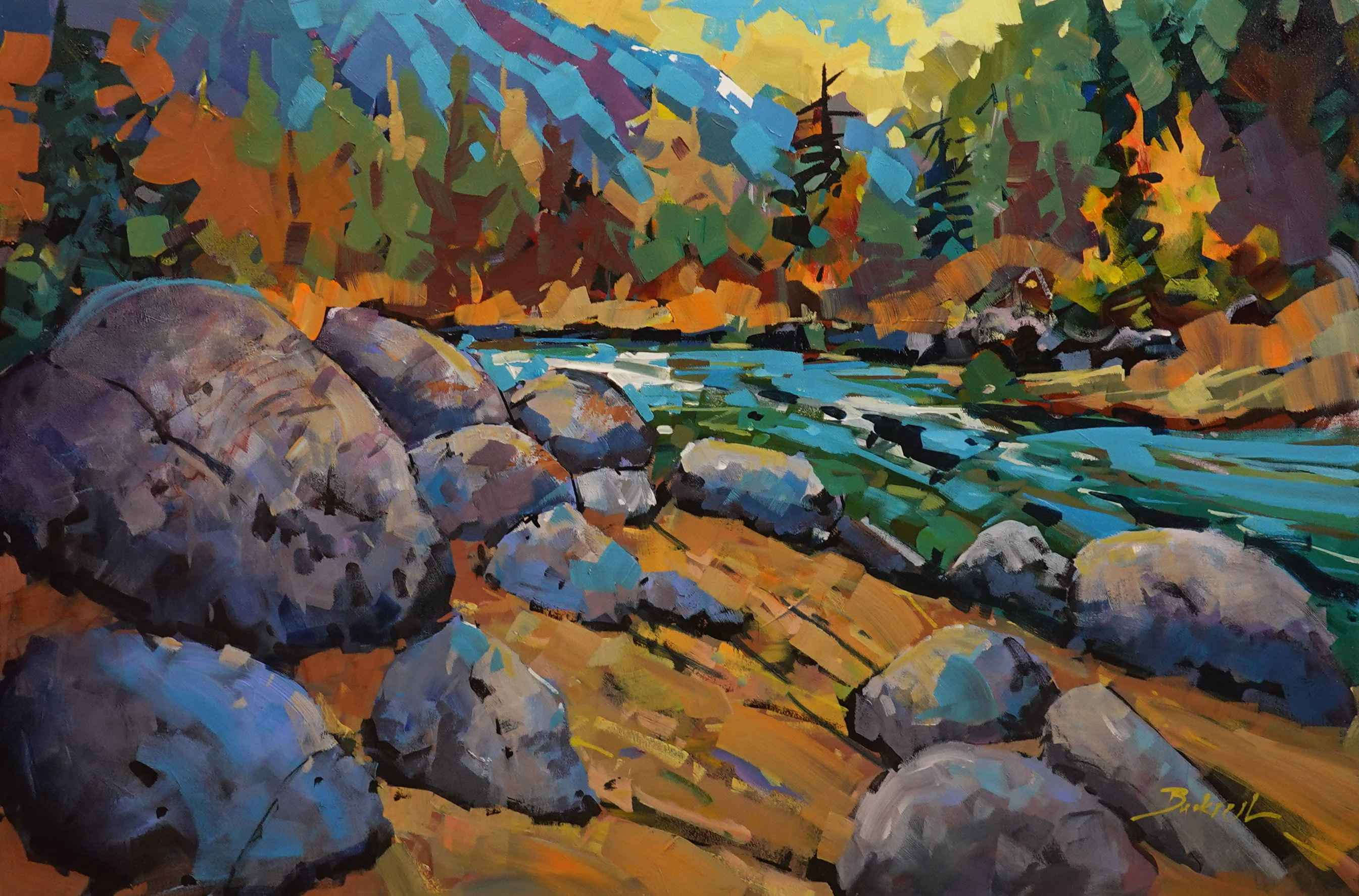 Seasons of Colour by  Brian Buckrell - Masterpiece Online