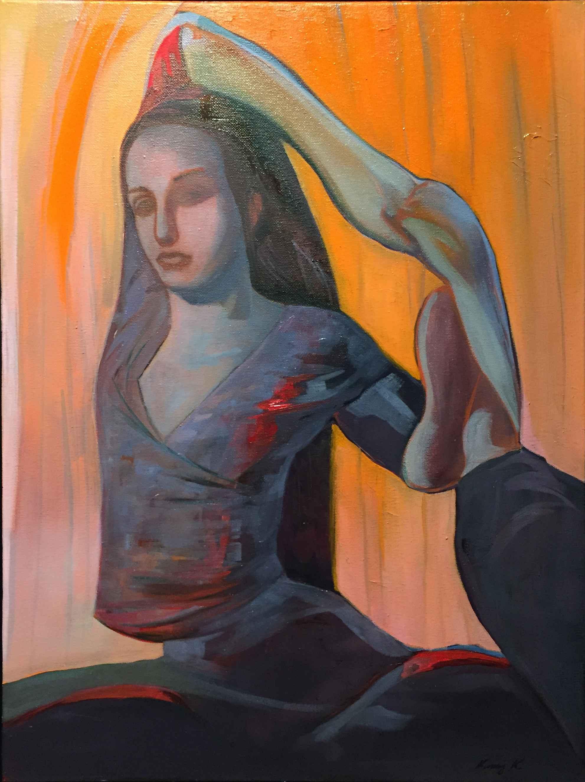 Yoga Study #6 by  Vinny K - Masterpiece Online