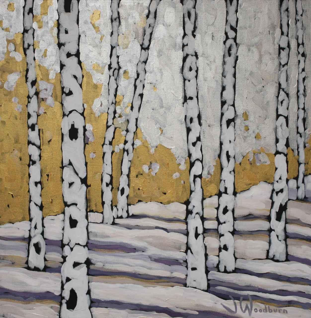 Golden Light of Winter by Ms Jennifer Woodburn - Masterpiece Online