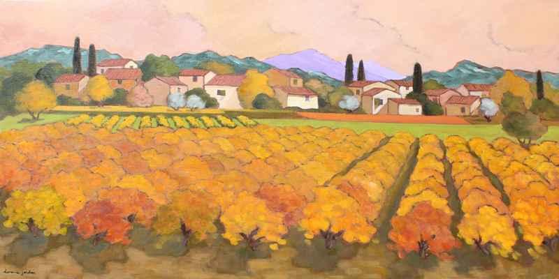 Automne au Village by  Lorraine  Jordan - Masterpiece Online