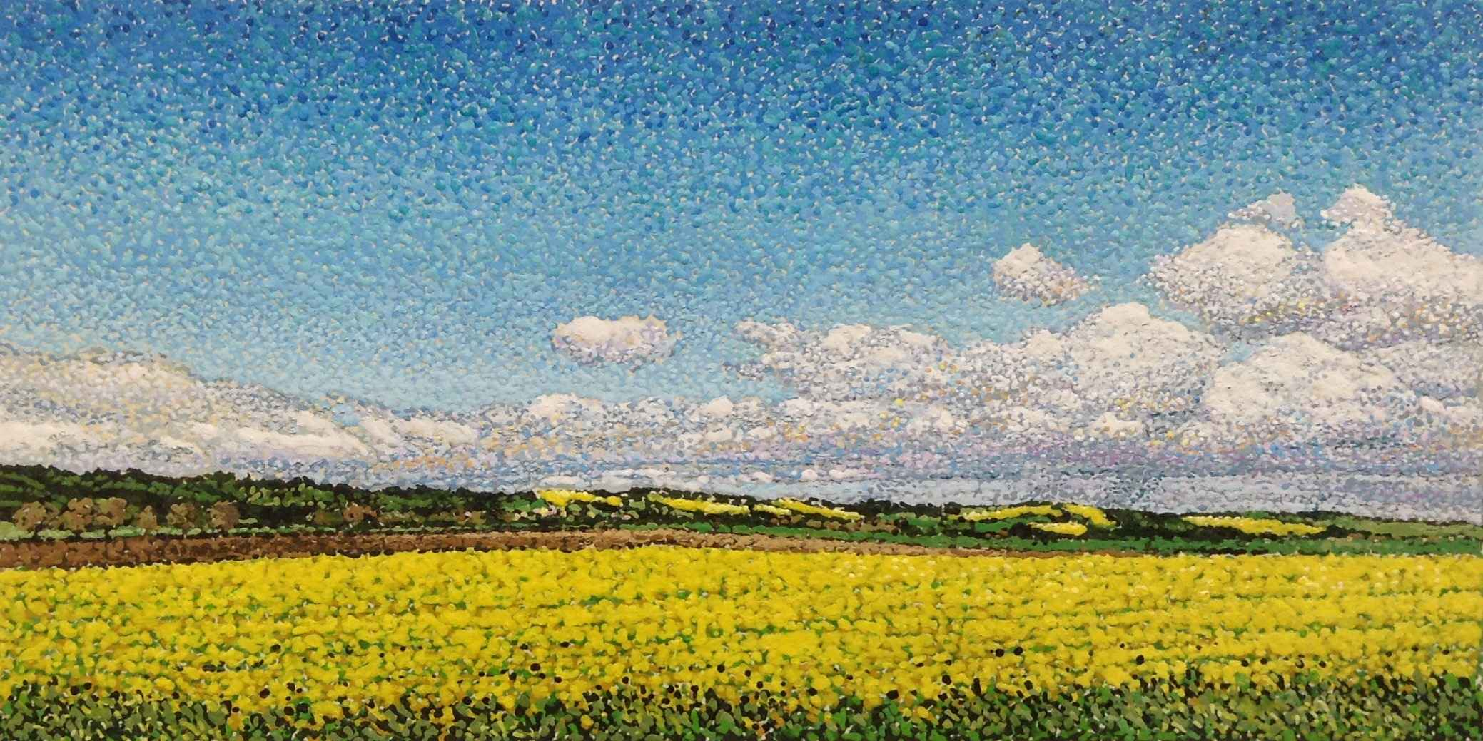 Fields in Northern Fr... by Ms. Ann Meyer - Masterpiece Online