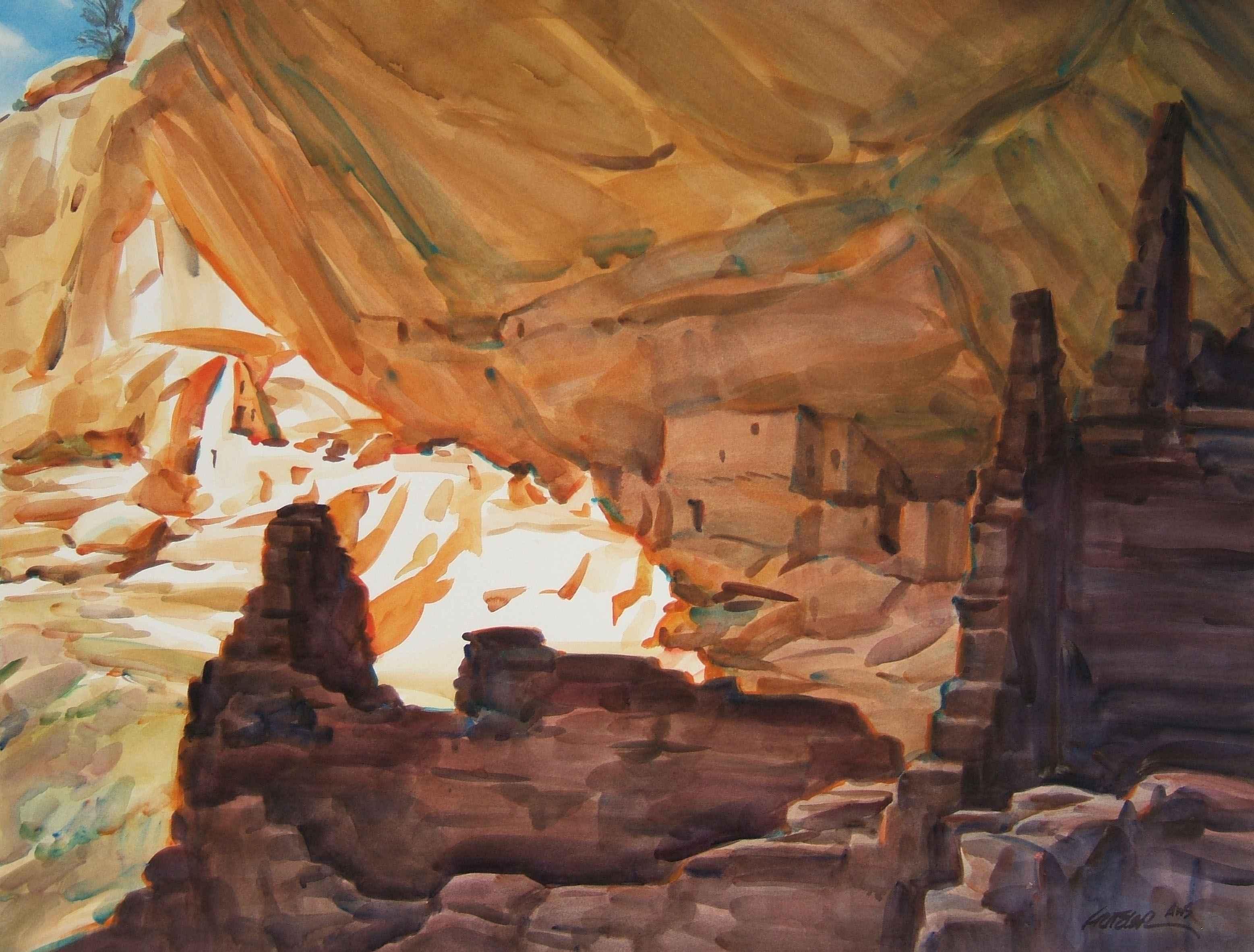 Longhouse Sunlight by Mr. & Mrs. Gerald Fritzler - Masterpiece Online