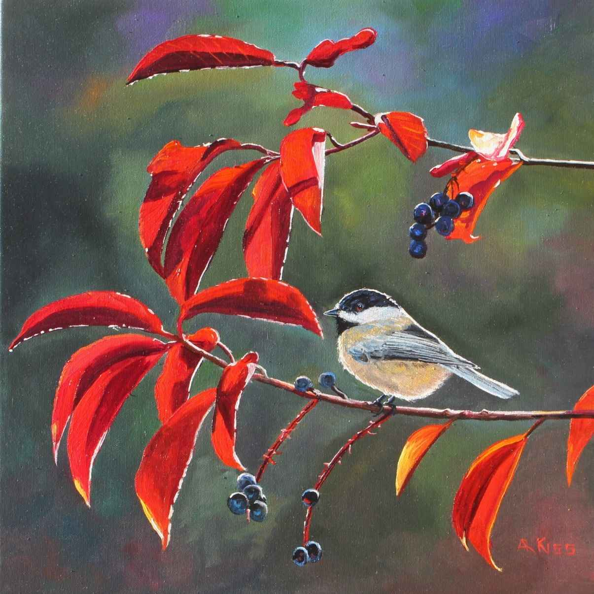 Chickadee Series-11103 by  Andrew Kiss - Masterpiece Online