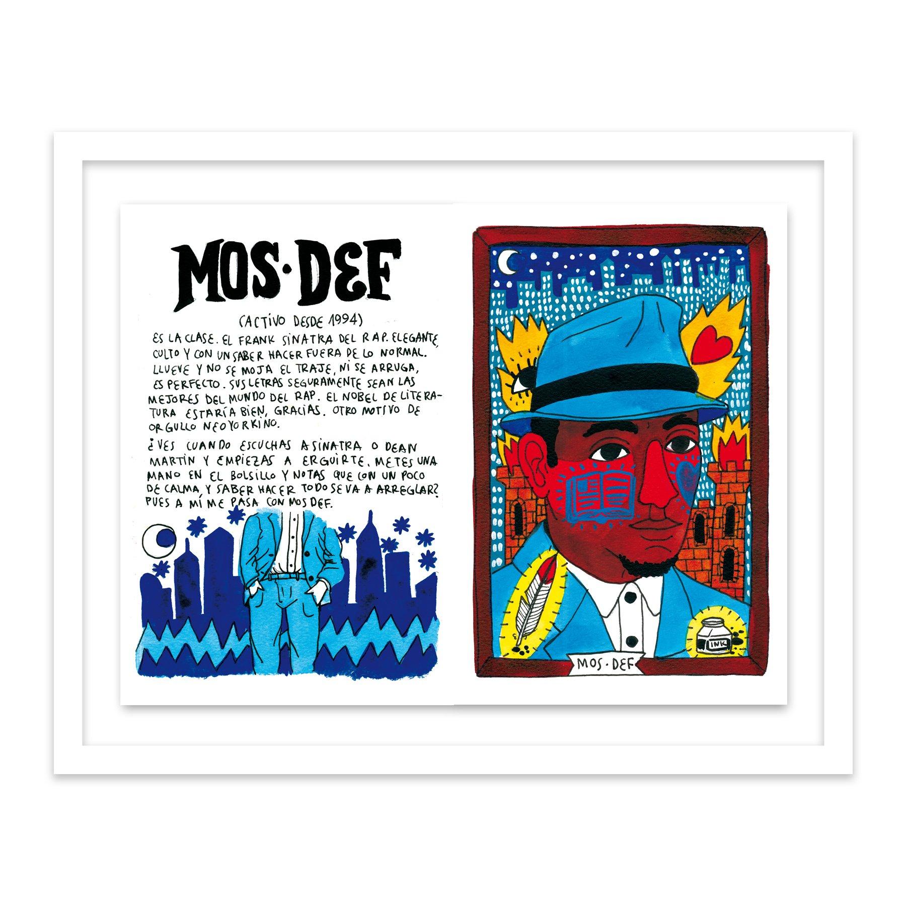 101 Mos Def by  Ricardo Cavolo - Masterpiece Online