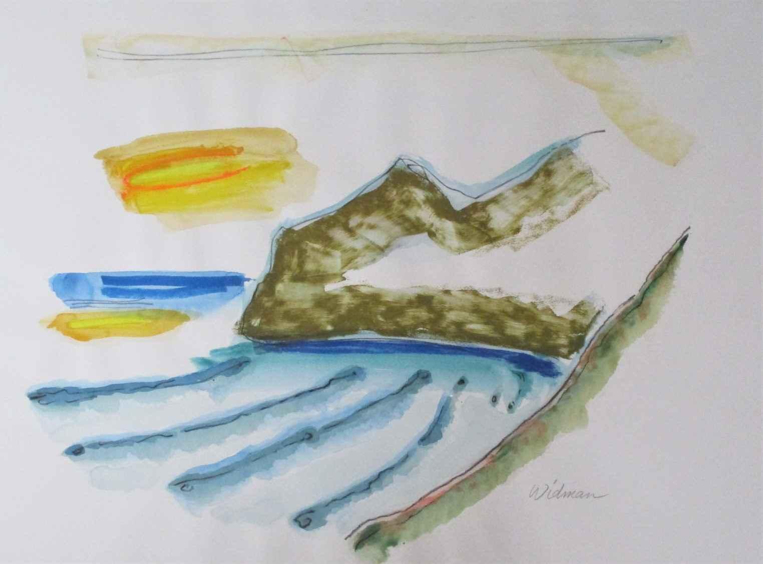 Unknown ( Mt. Ridge) by  Harry Widman - Masterpiece Online