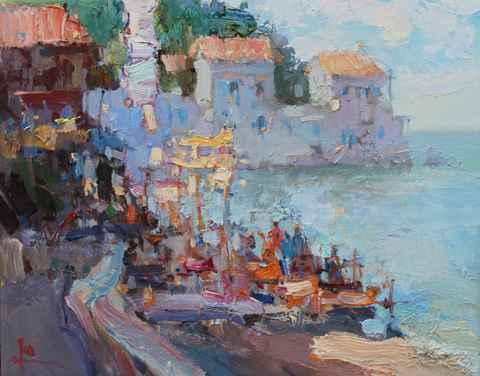 Sea Coast by  Slava Korolenkov - Masterpiece Online