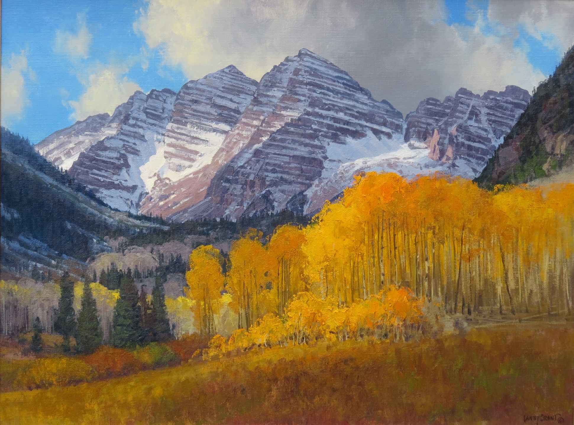 Maroon Valley Fall by  Lanny Grant - Masterpiece Online