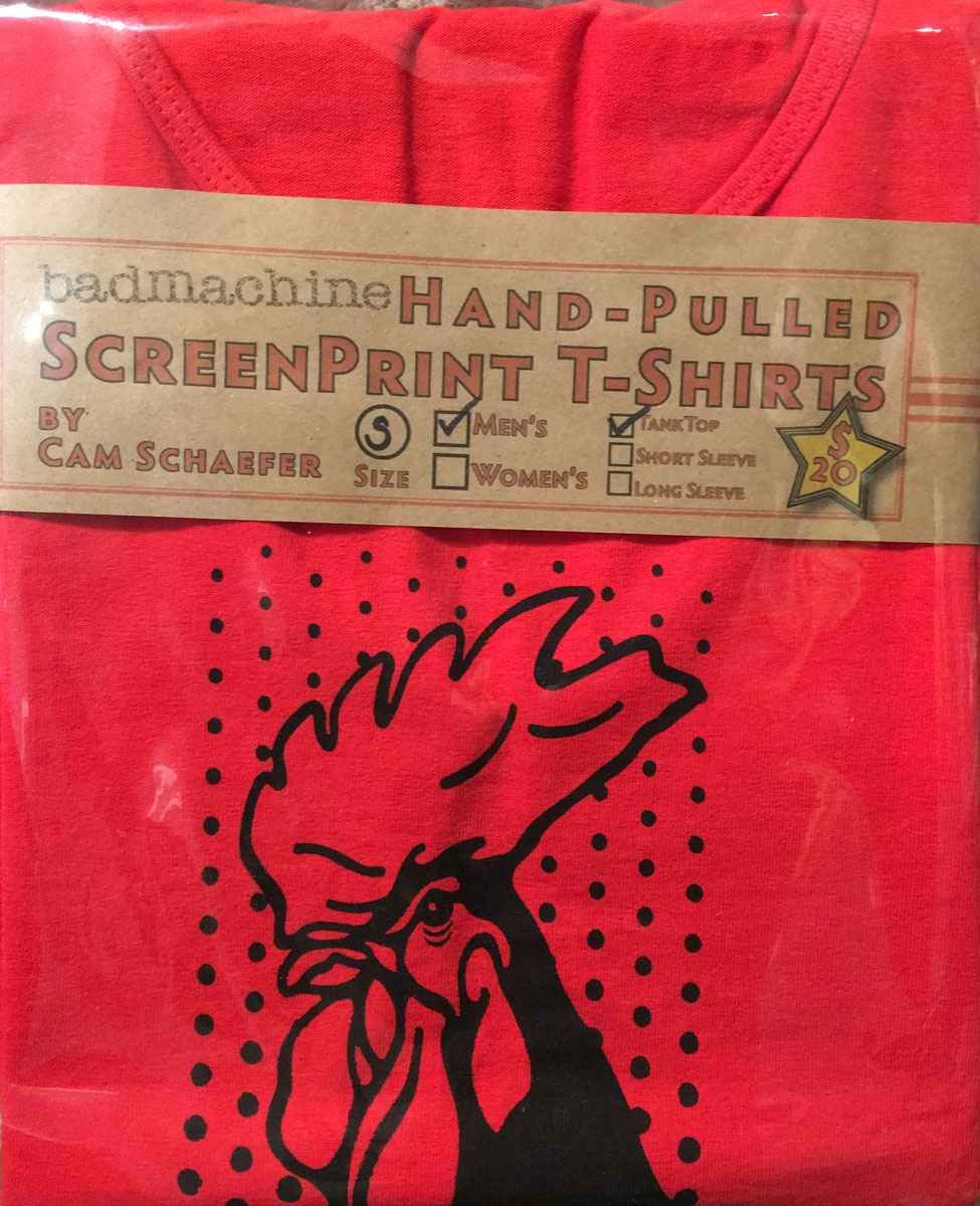 Red Rooster Tank Top ... represented by  by  Cameron Schaefer