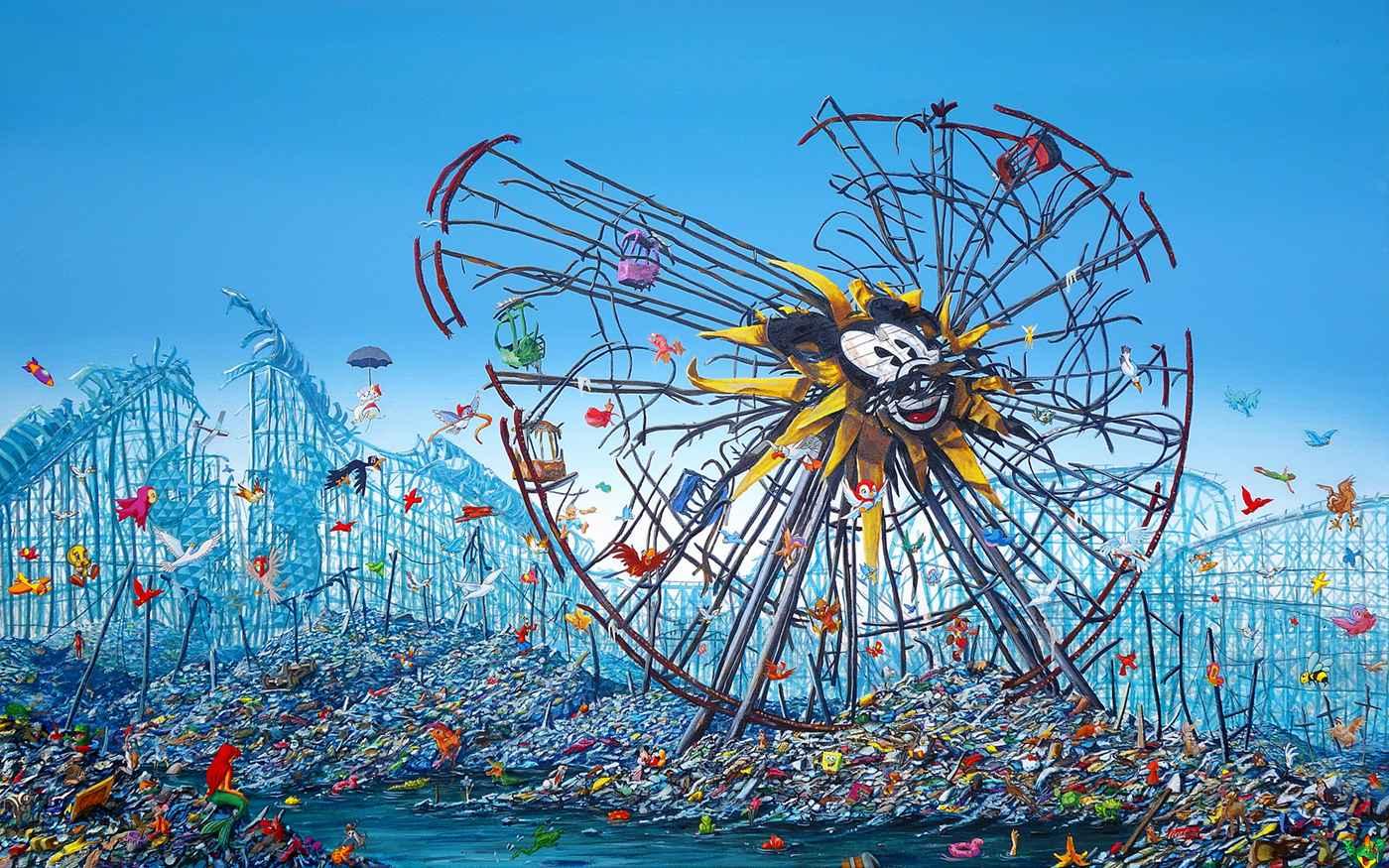 Split Mickey Ferris W... by  Jeff Gillette - Masterpiece Online