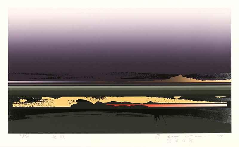 Untitled (Purple) by  Tetsuro Sawada - Masterpiece Online