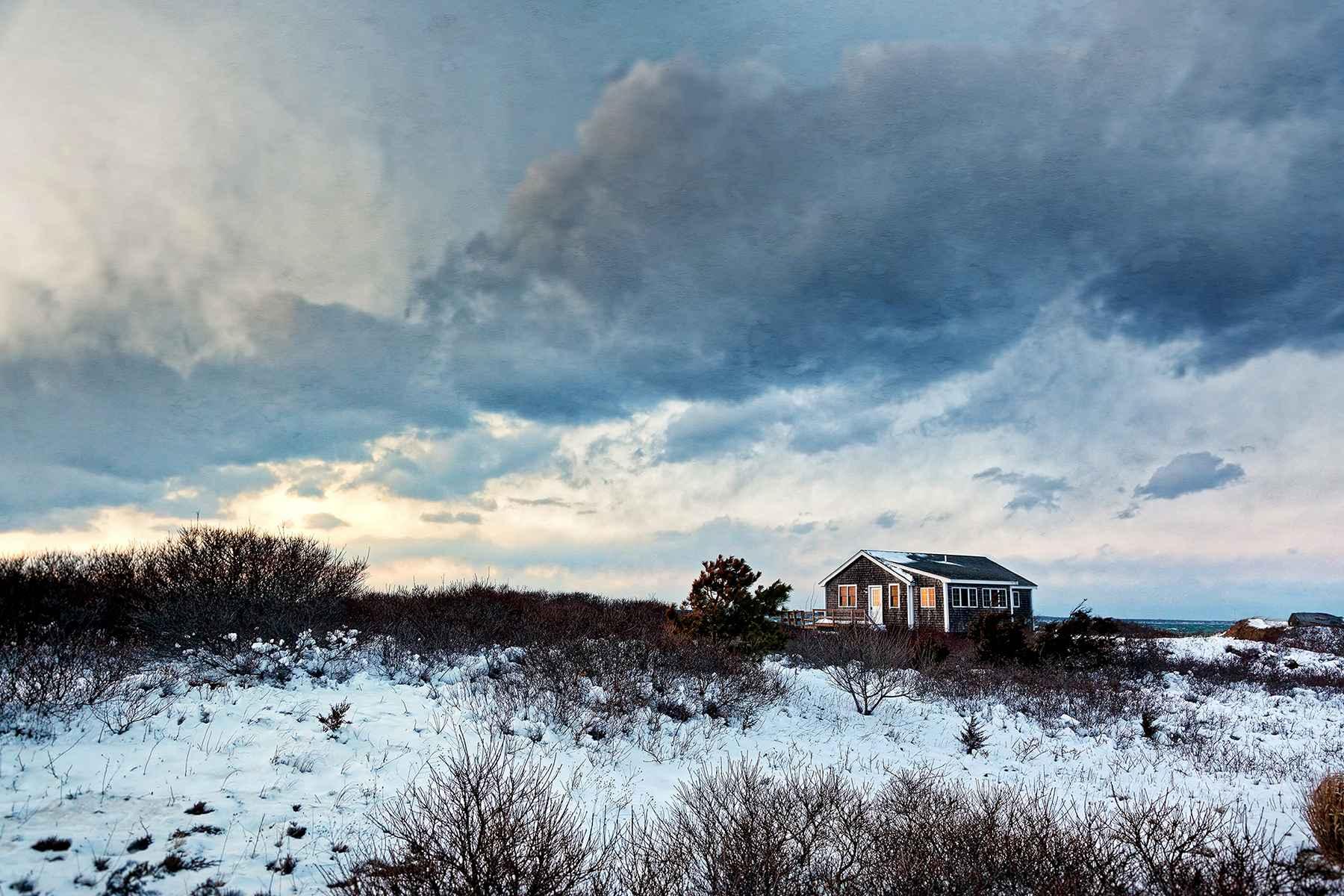 Winter Solitude, 2017 by  Michael Stimola - Masterpiece Online