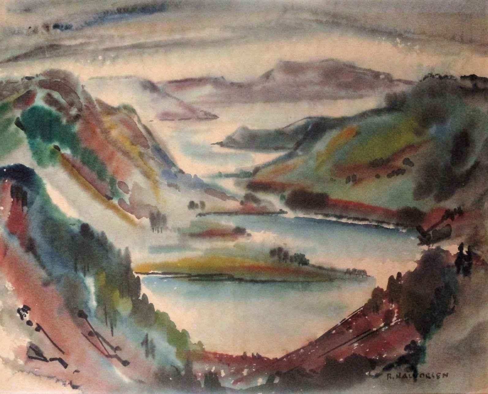 Unknown (landscape) by  Ruth Halvorsen - Masterpiece Online
