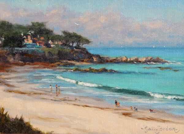 Sand & Surf by  Sally  Jordan - Masterpiece Online