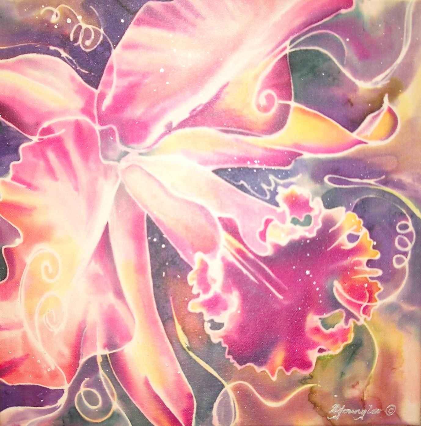 Cattleya  Series III by Mrs Deborah Younglao-Baynes - Masterpiece Online
