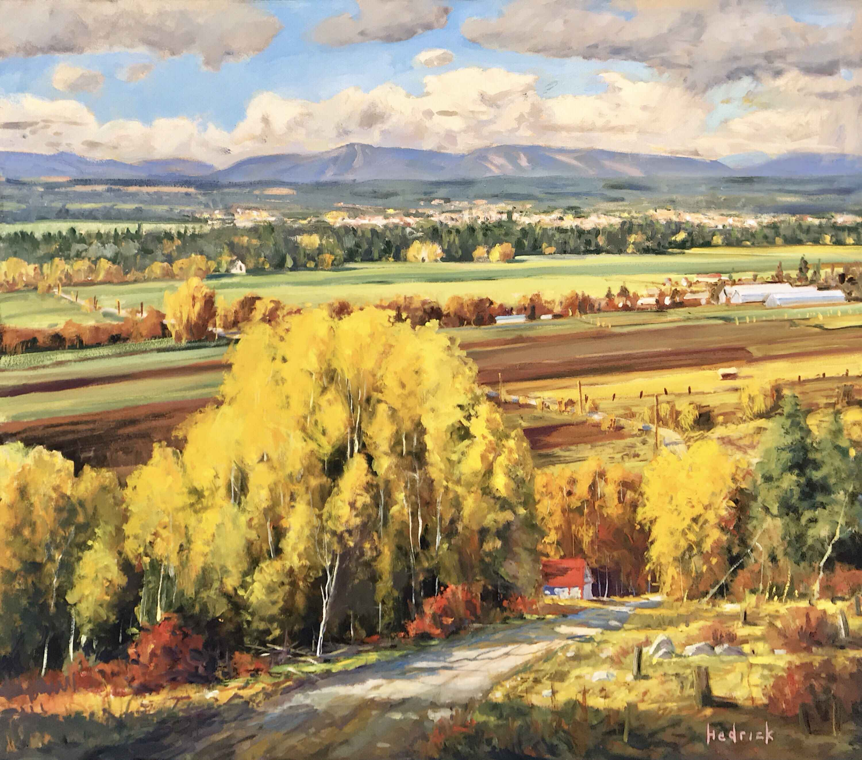 Armstrong Valley by  Ron Hedrick - Masterpiece Online