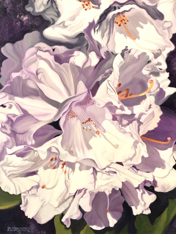 Summer Rain, White Rh... by  Don Berger - Masterpiece Online
