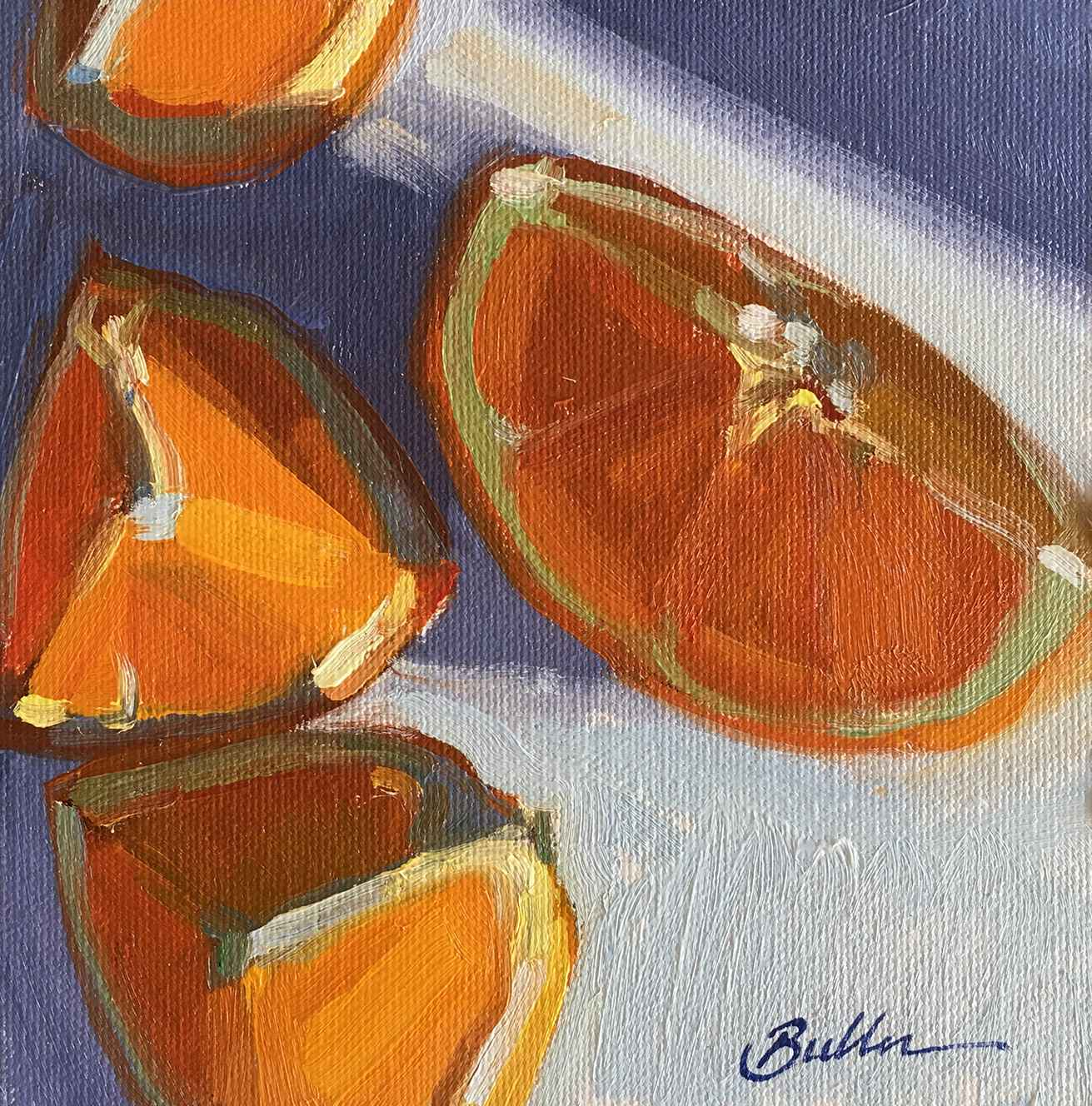 Citrus Wedges represented by  by  Samantha Buller