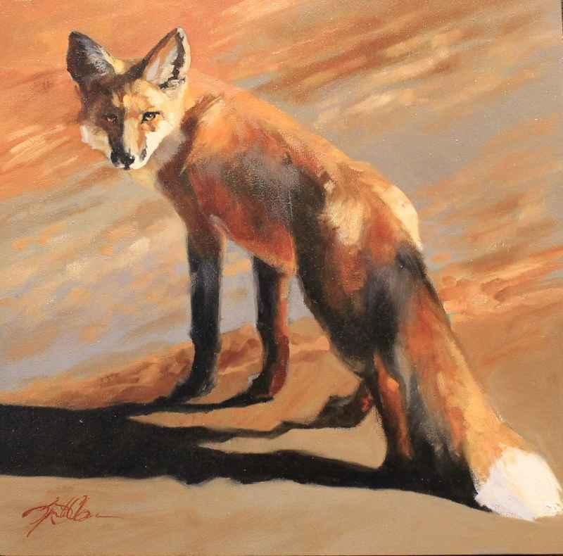 Shadow Fox  by  Lyn St. Clair