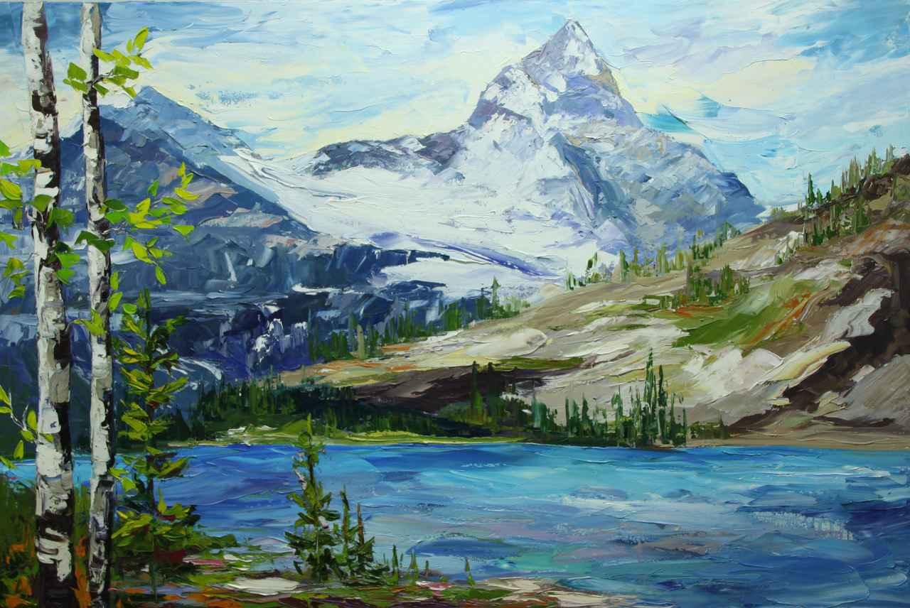 Mount Assiniboine by  Rachelle Brady - Masterpiece Online