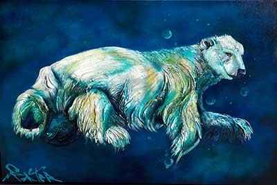 Polar Bear - DS 183721 by  Brian Porter - Masterpiece Online