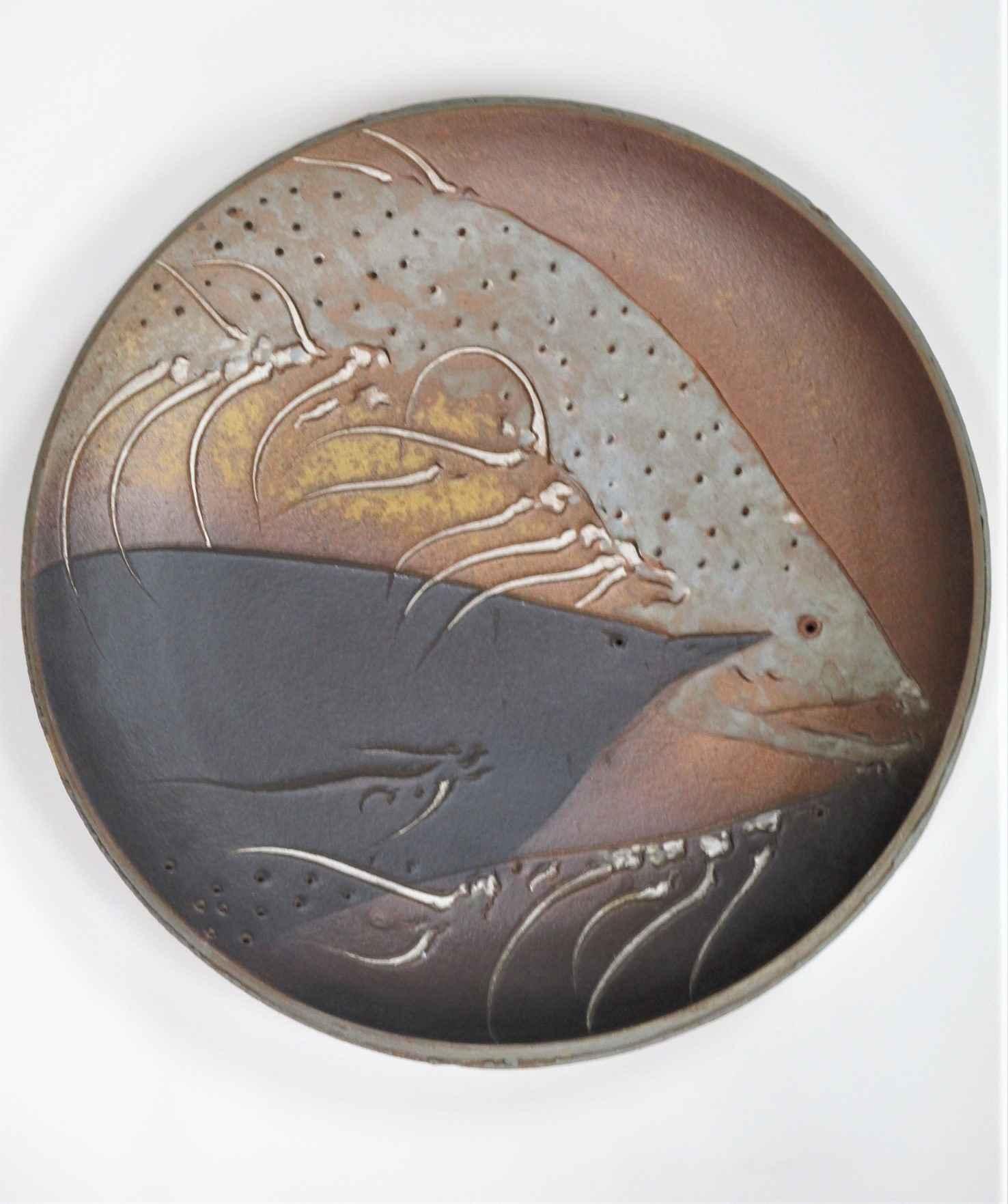 Stoneware Plate (Anag... by  Frank Boyden - Masterpiece Online