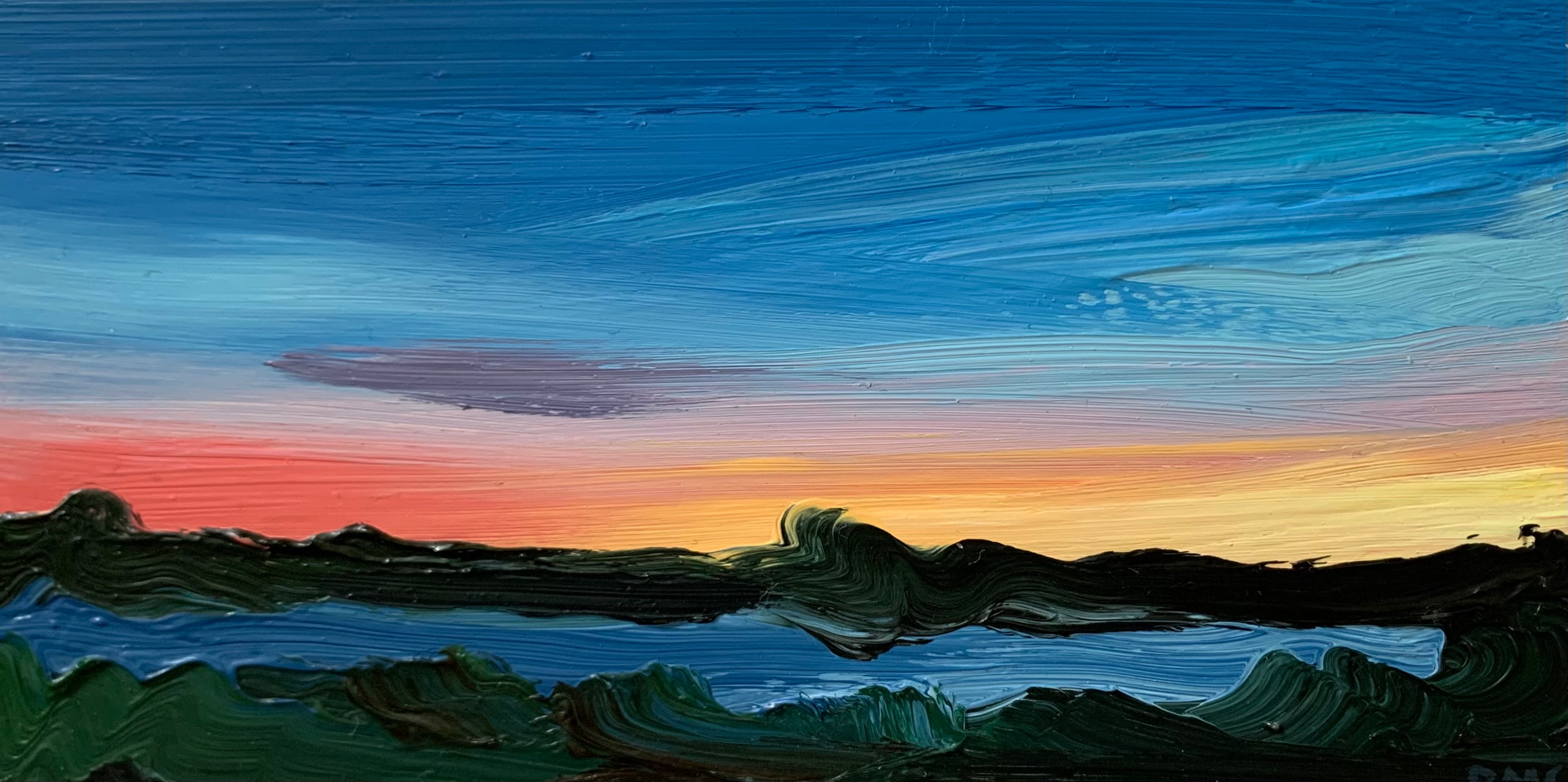 Evening Glow by  Rachael Cassiani - Masterpiece Online