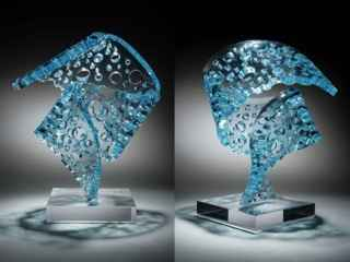 Sapphire Pirouette by  Michael Enn Sirvet - Masterpiece Online