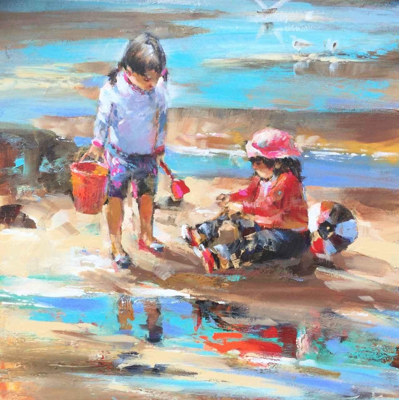 Beach Day by  Brent Heighton - Masterpiece Online