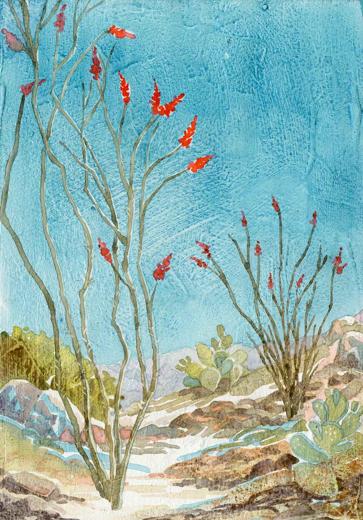 OCOTILLO by  Ellen Fountain - Masterpiece Online