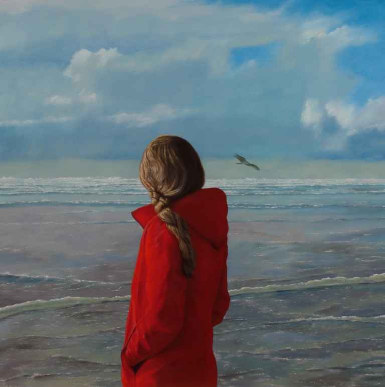 The Red Coat by  Christopher Pothier - Masterpiece Online