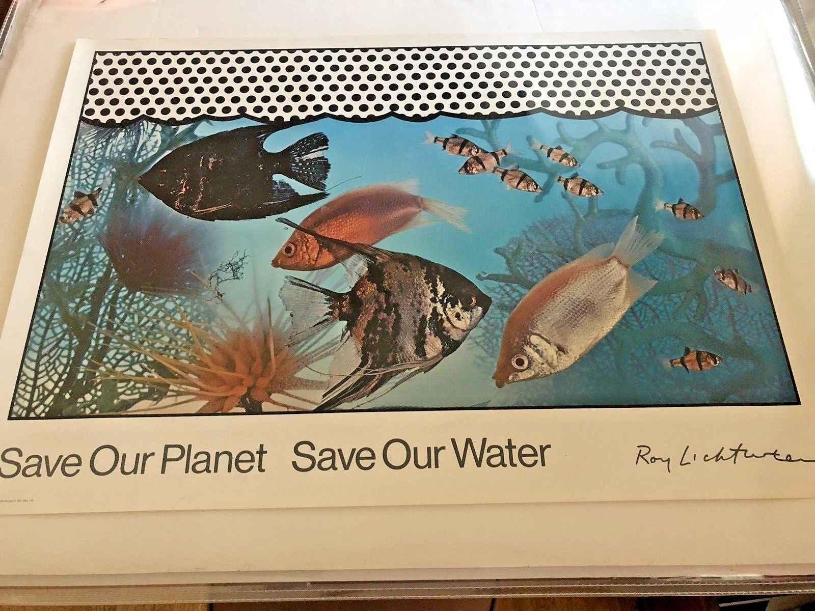 Save Our Planet Save ... by  Roy Lichtenstein - Masterpiece Online