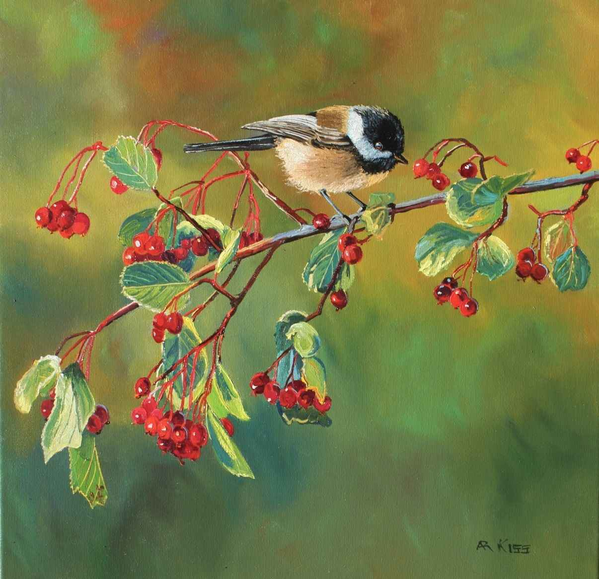 Chickadee Series-11105 by  Andrew Kiss - Masterpiece Online