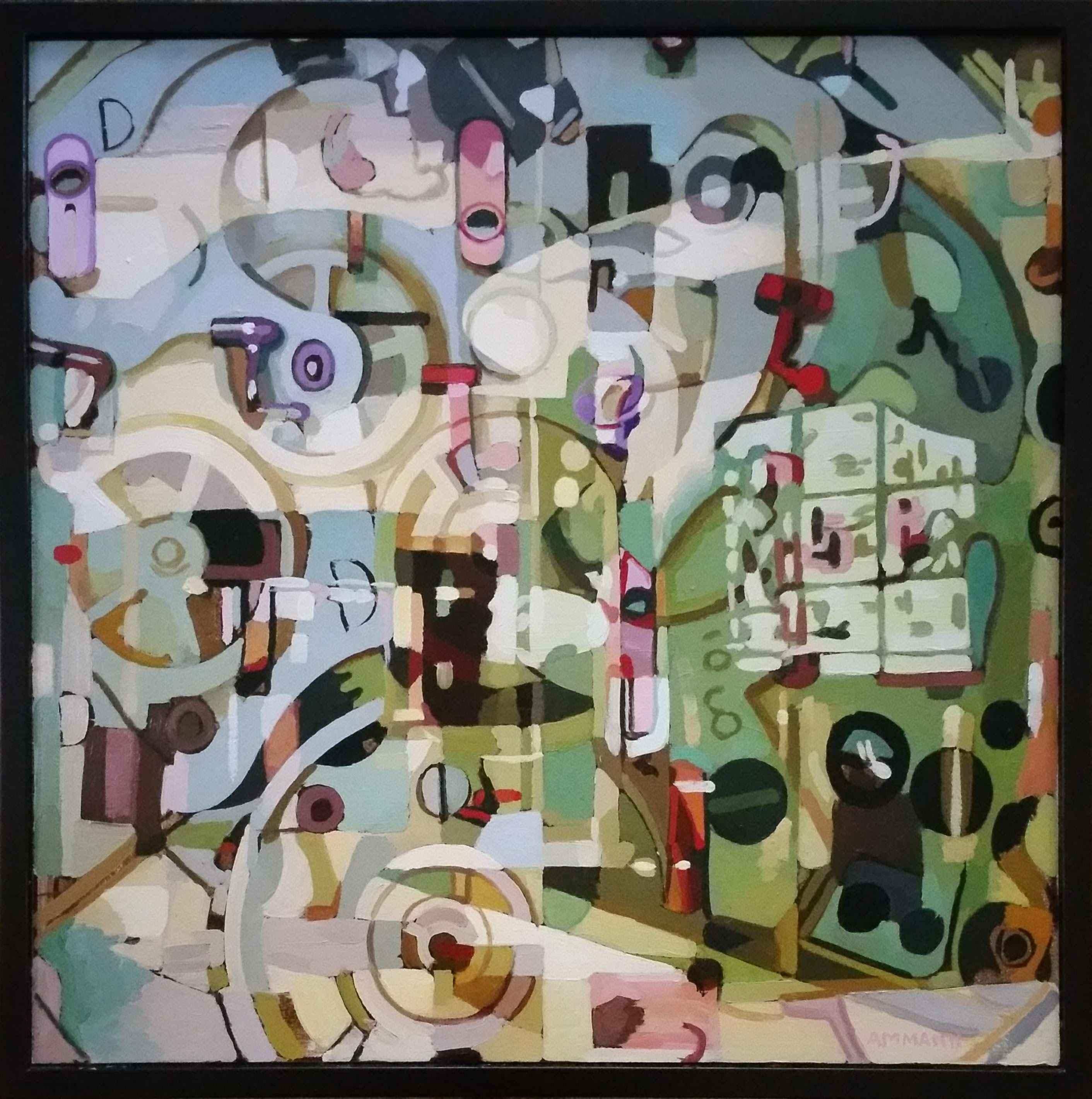 Inner Workings III by  Alan Ammann - Masterpiece Online