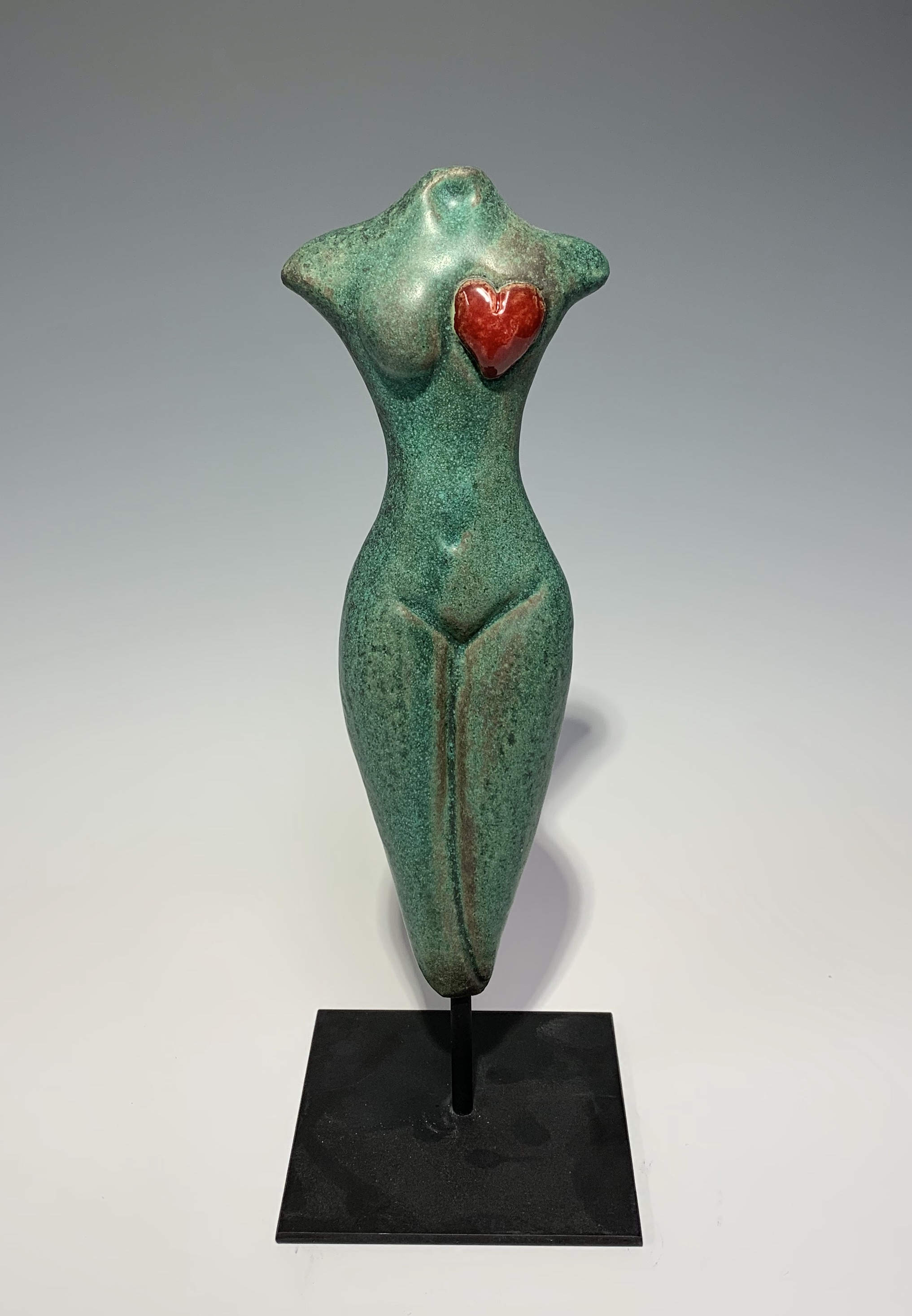 Small Figure with Hea... by  Cathy Broski - Masterpiece Online