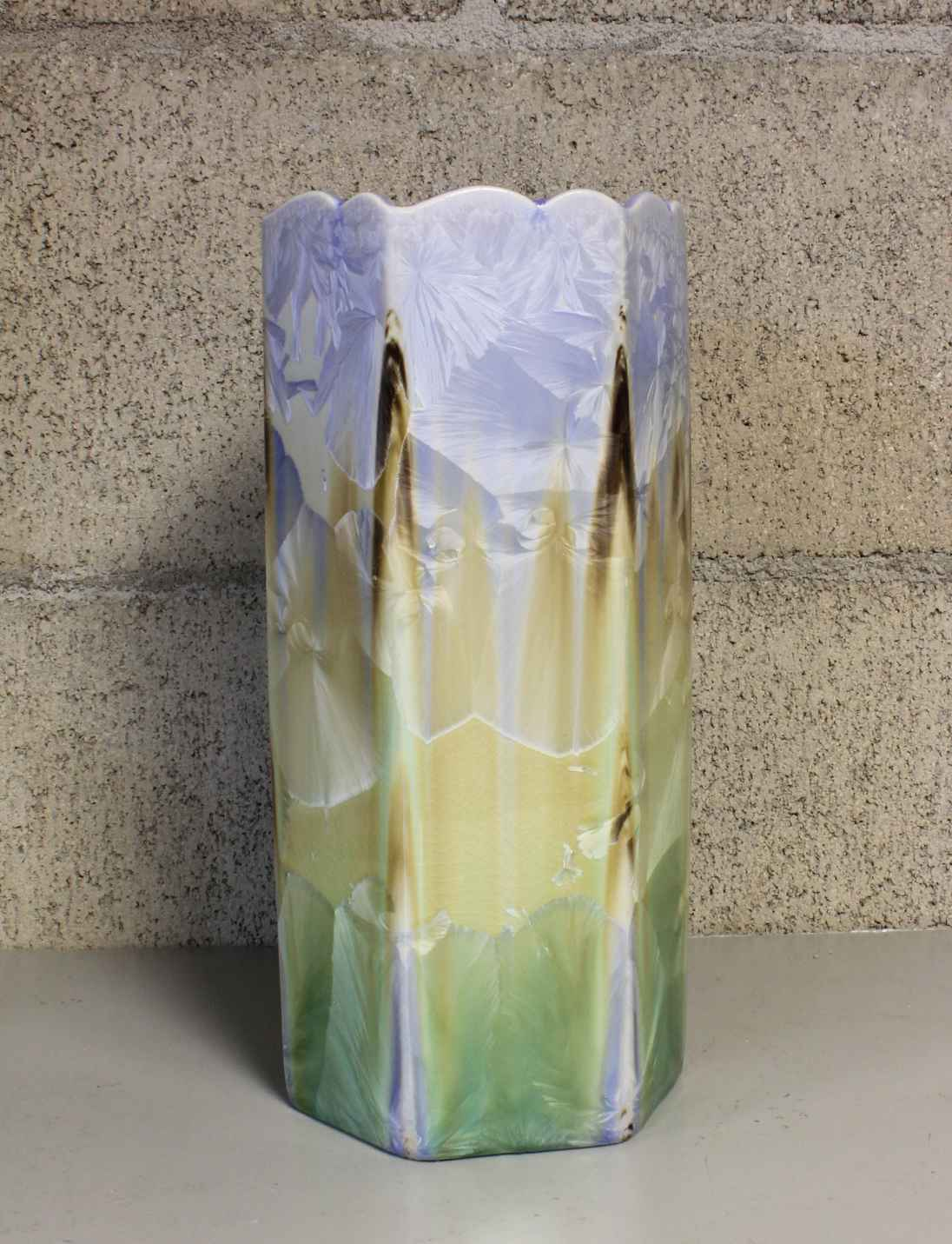 Multi Color Vase by  Duly Mitchell - Masterpiece Online