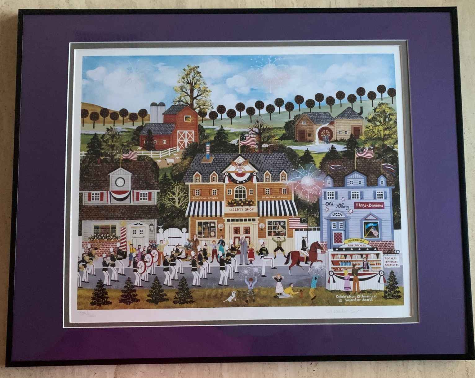 Celebration of America by  Jane Wooster Scott - Masterpiece Online