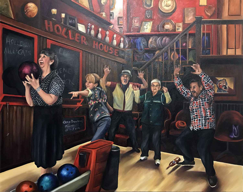 The Hollerin' Alleyca... by  Colleen Kassner - Masterpiece Online