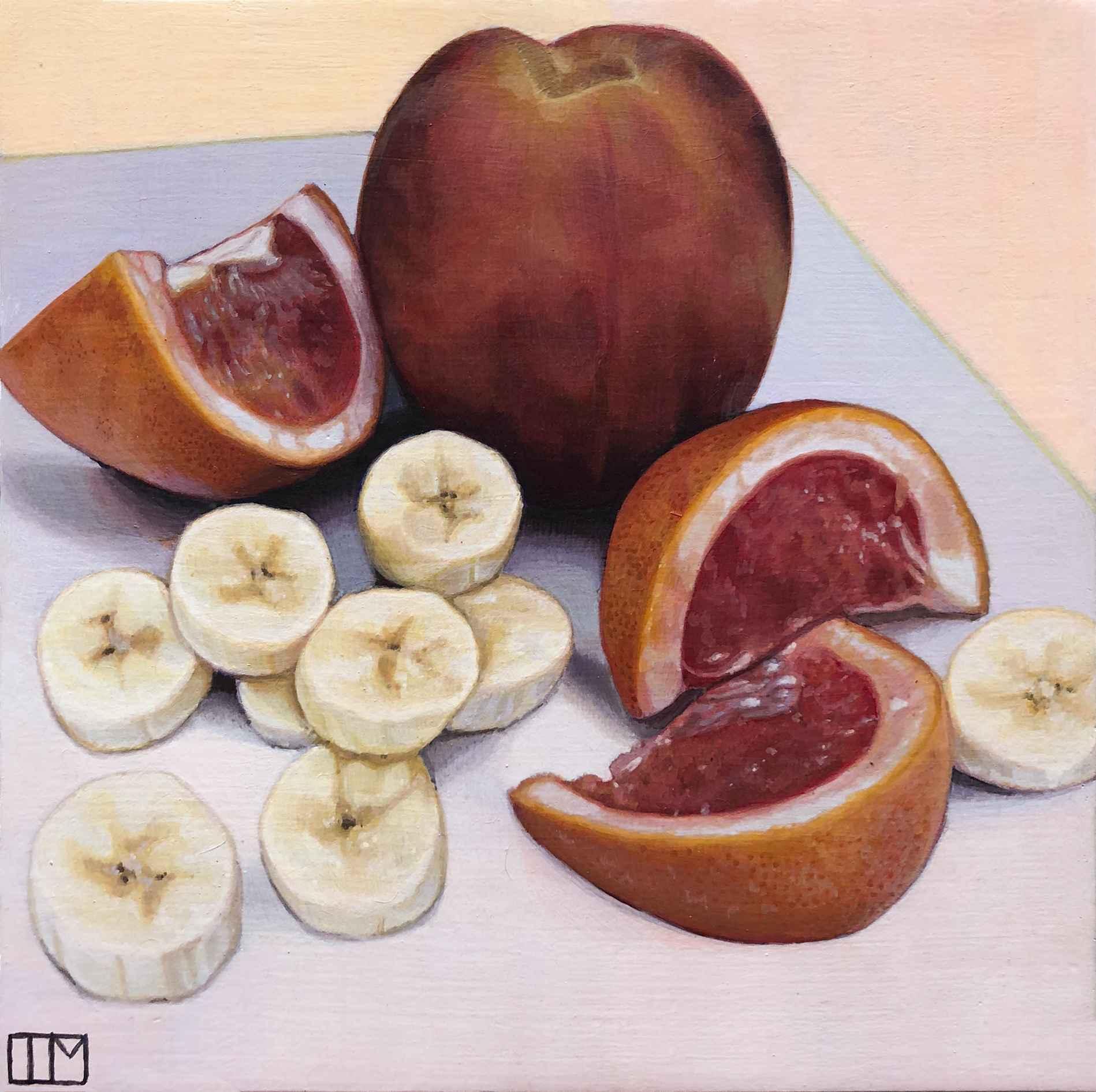Peach Pie Fruit Salad by  Teagan McLarnan - Masterpiece Online