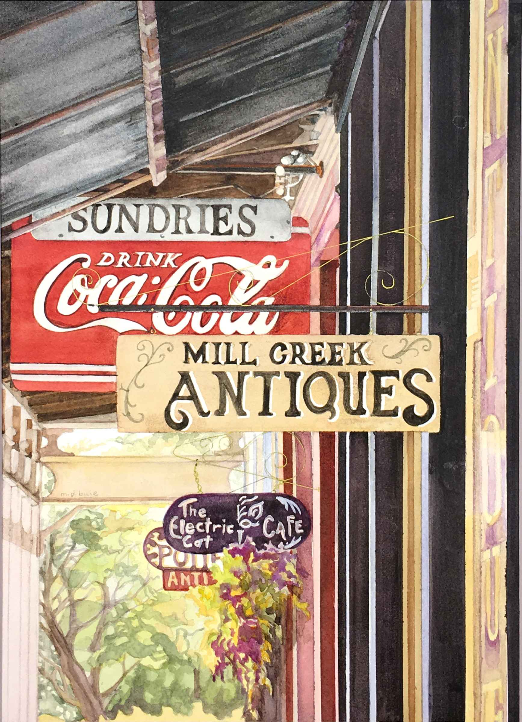 Antiques and Coca Col... by  Margaret Buie - Masterpiece Online