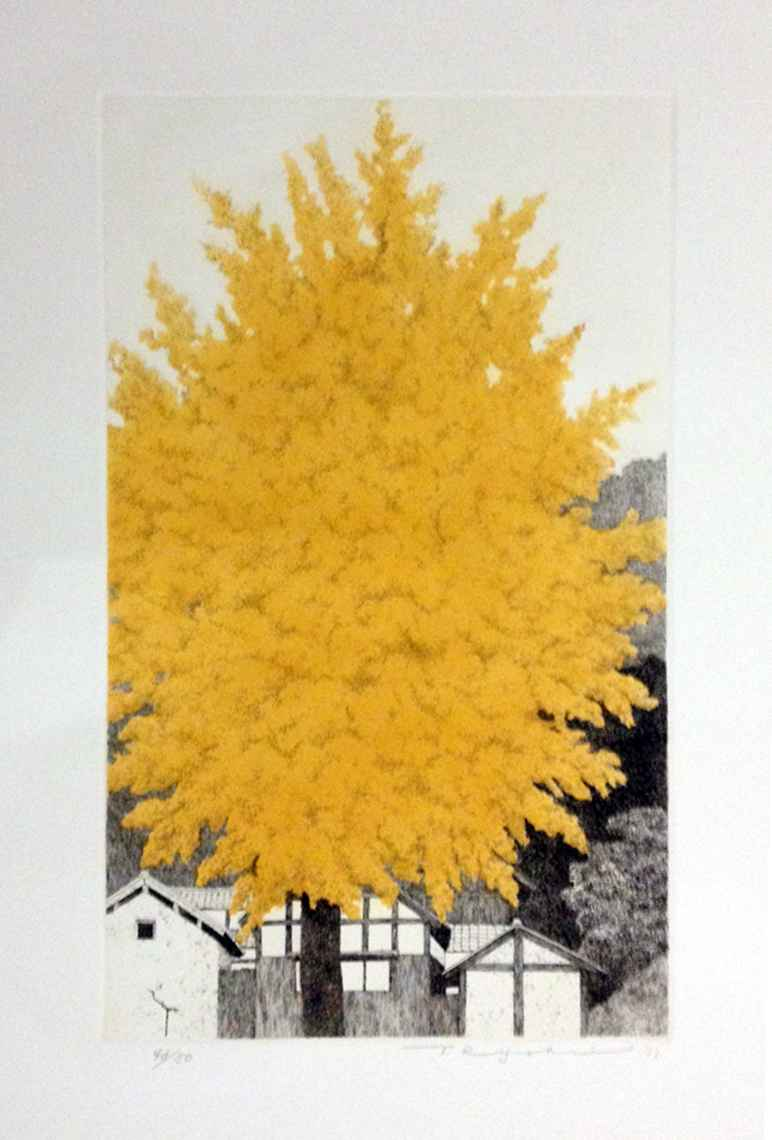 Great Gingko Tree No.... by  Ryohei Tanaka - Masterpiece Online
