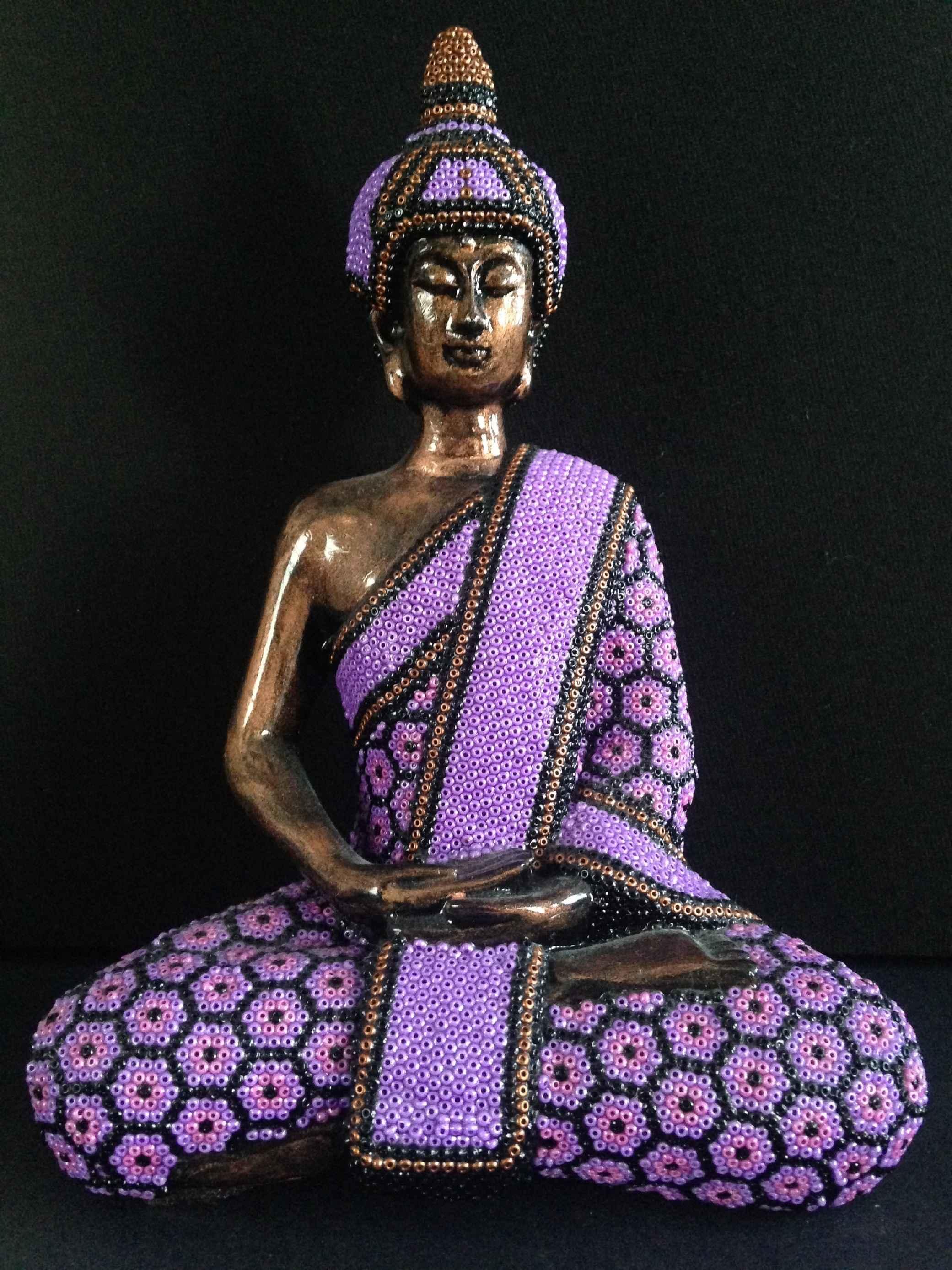 Little Buddha - Purple by  Joshua  - Masterpiece Online