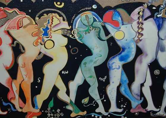 Rainbow Dancers, S/N/E by  Andrea Smith - Masterpiece Online