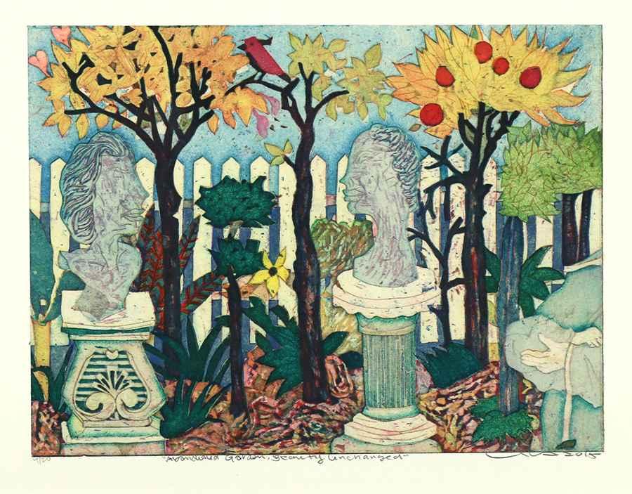 Abandoned Garden, Bea... by  Yuji Hiratsuka - Masterpiece Online